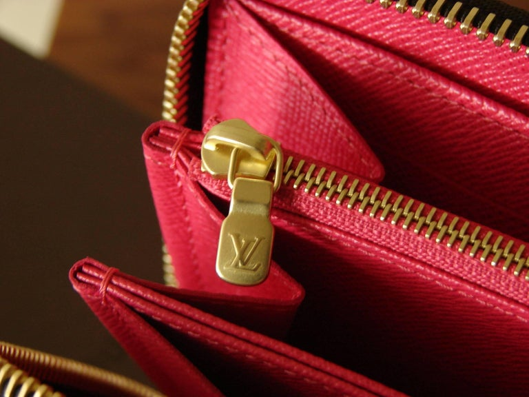 Louis Vuitton Zippy Wallet in Monogram Ramages 2015 Limited Edition New In Box For Sale 1