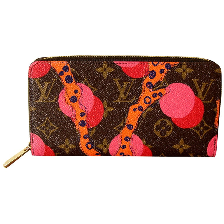 Louis Vuitton Zippy Wallet in Monogram Ramages 2015 Limited Edition New In Box For Sale