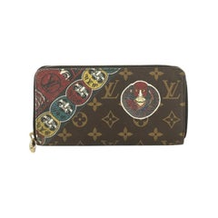 Louis Vuitton Zippy Wallet Limited Edition Kabuki Monogram Canvas
