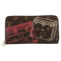 Louis Vuitton Zippy Wallet Limited Edition Monogram Canvas