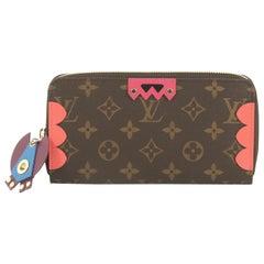 Louis Vuitton Zippy Wallet Limited Edition Totem Monogram Canvas