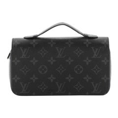 Louis Vuitton Zippy Wallet Monogram Eclipse Canvas XL
