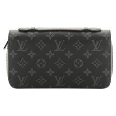 Louis Vuitton Zippy Wallet Monogram Eclipse Canvas XL