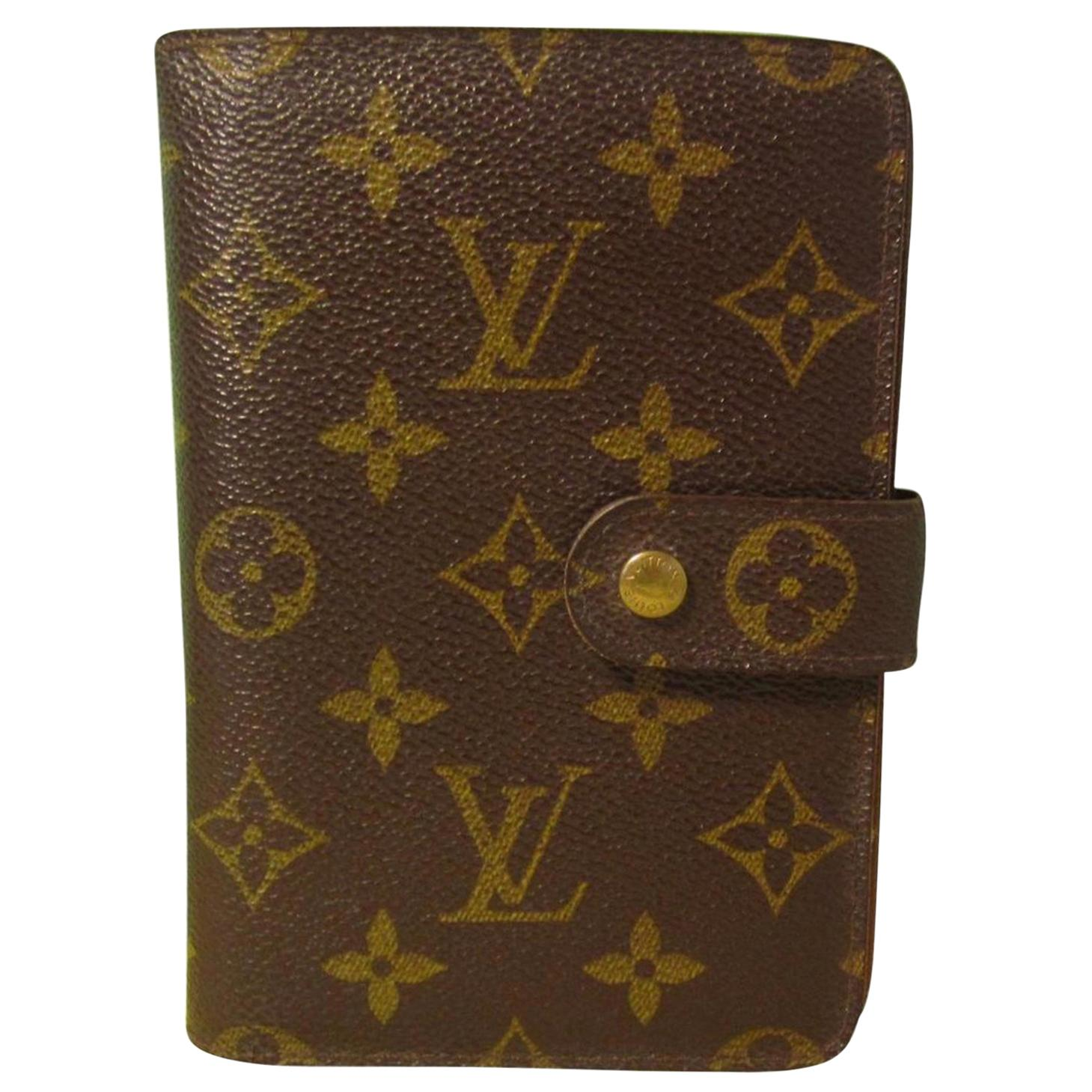 LOUIS VUITTON  Zippy Wallet Porto Papie Zip Brown Monogram, Bifold Women Wallet
