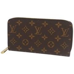 LOUIS VUITTON Zippy Wallet unisex long wallet M41895 Fuschia