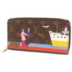 LOUIS VUITTON Zippy Wallet unisex long wallet M62135 Monogram Illustre