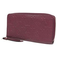 LOUIS VUITTON Zippy Wallet Womens long wallet M60549 aurore