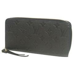 LOUIS VUITTON Zippy Wallet Womens long wallet M60571 noir