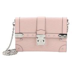Louis VuittonTrunk Chain Wallet Epi Leather