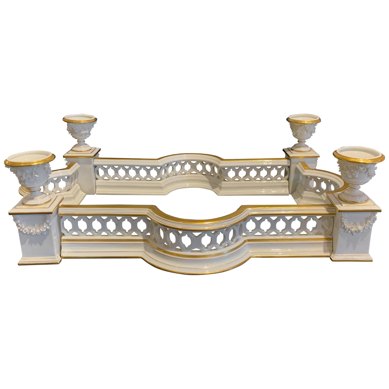 Louis VXI Style Gilt Porcelain Surtout De Table by Vista Alegre