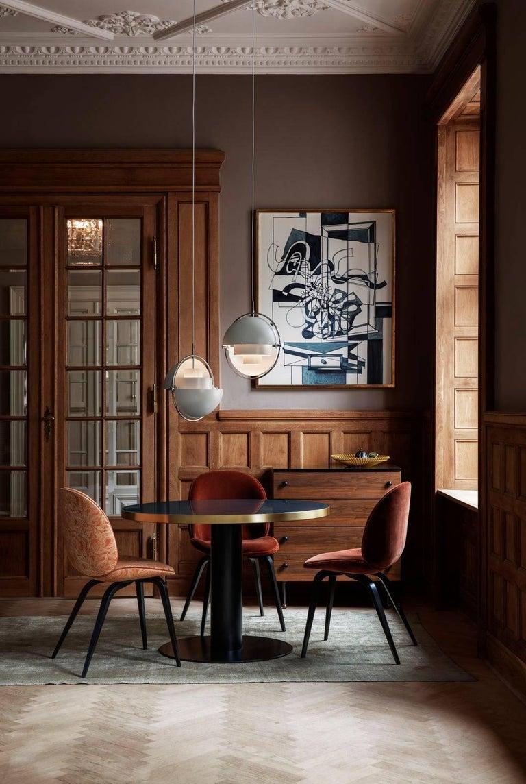 Louis Weisdorf 'Multi-Lite' Pendant Lamp in Brass For Sale 3