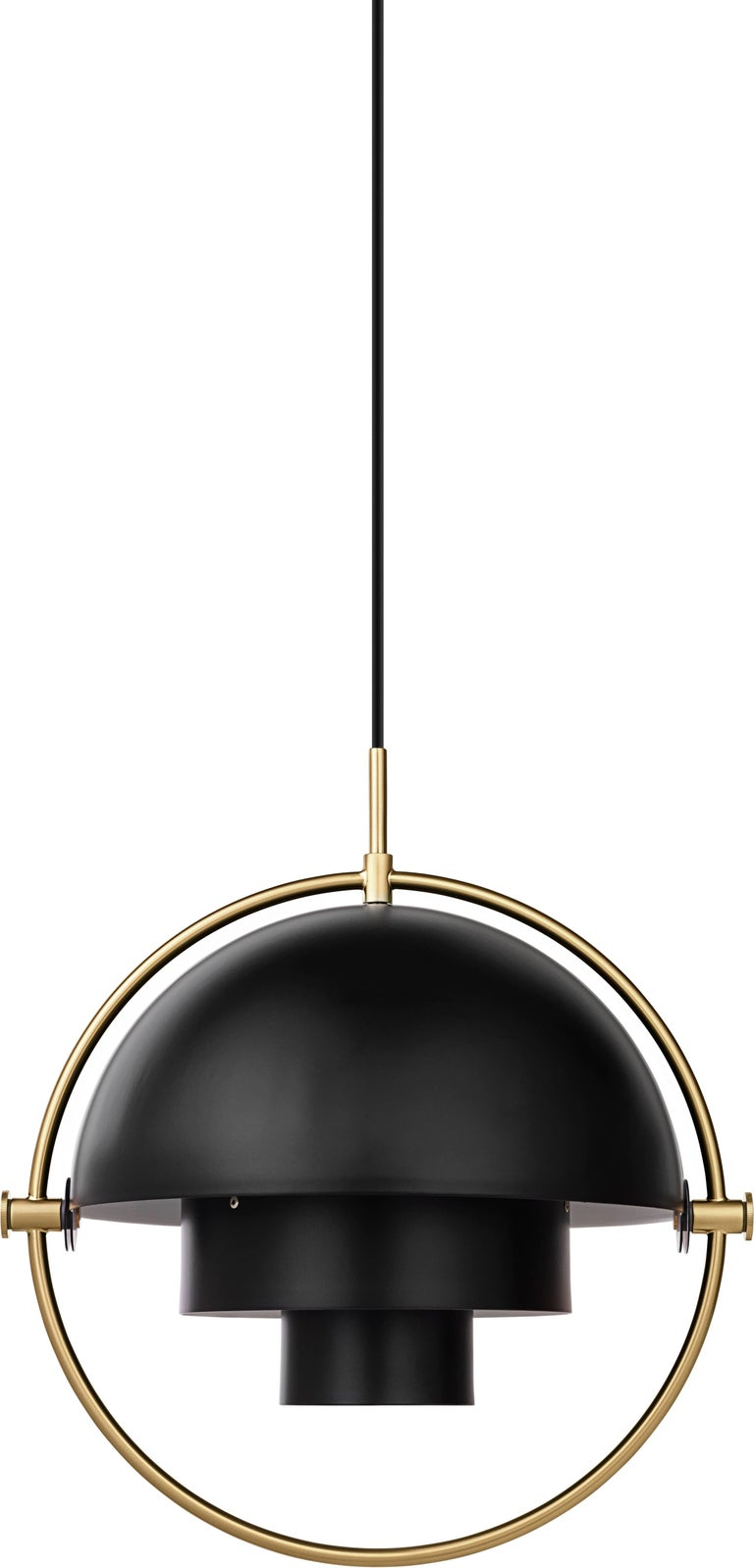 Louis Weisdorf 'Multi-Lite' Pendant Lamp in Brass In New Condition For Sale In Glendale, CA
