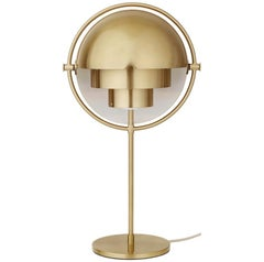 Louis Weisdorf 'Multi-Lite' Table Lamp in Brass