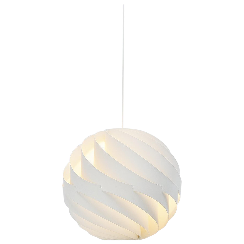 Louis Weisdorf Turbo Pendant Lamp Lyfa, Denmark, 1965