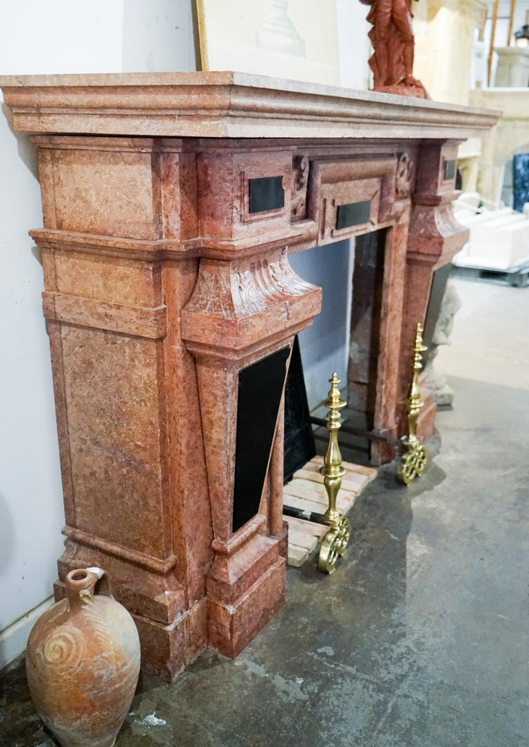 Louis XIII Marble Mantel, circa 1670 For Sale 4