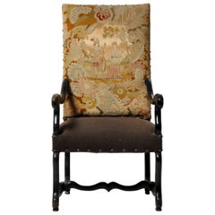 Louis XIII Style Arm Chair