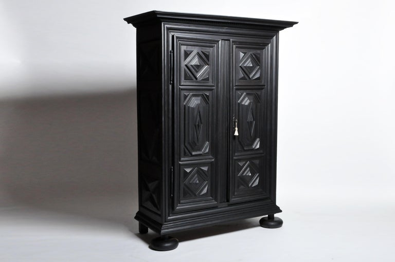 Louis XIII Style Armoire For Sale 11