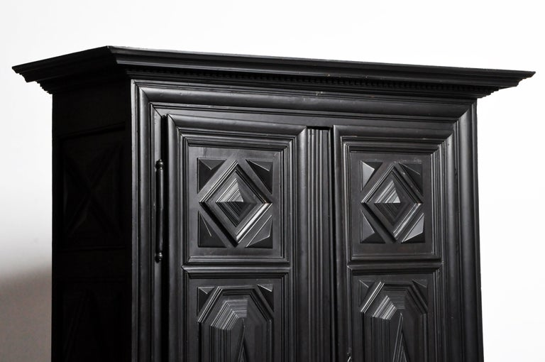 Louis XIII Style Armoire For Sale 12