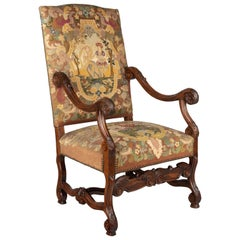 Louis XIII Style French Fauteuil or Armchair
