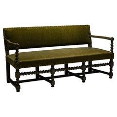 Louis XIII Style Sofa, France, Circa 1940