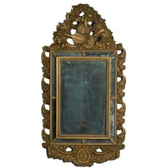 Louis XIV Giltwood Mirror