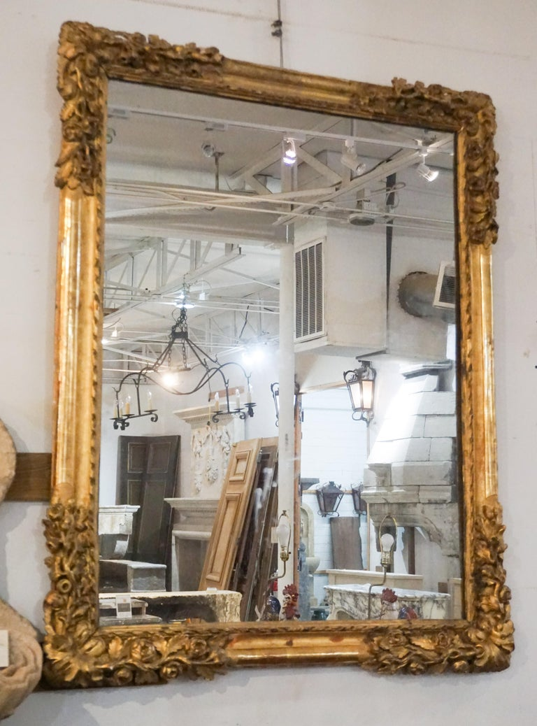 Louis Xiv Gold Leaf Mirror For Sale At 1stdibs