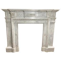 Louis XIV Marble Fireplace
