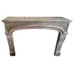 Louis XIV Marble Mantel