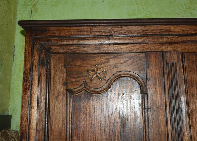 Louis XIV Style French Armoire In Good Condition For Sale In Great Barrington, MA