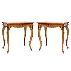 Louis XIV Style Side Tables or Nightstands