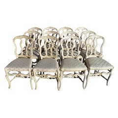 Antique Louis XV Style Italian Chairs