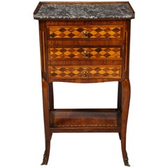 Louis XV Bedside Table