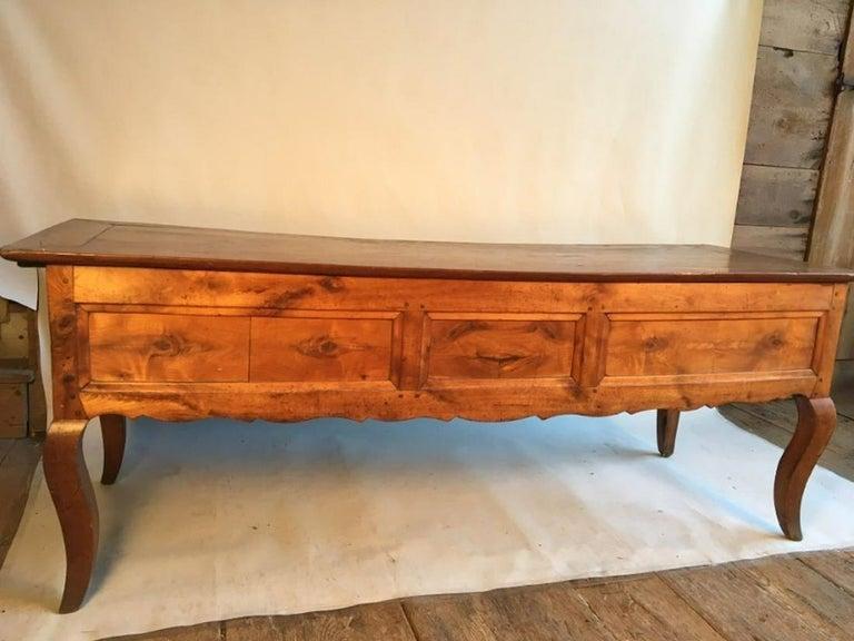 Louis XV Bureau Plat, Cherry, 18th Century For Sale 2