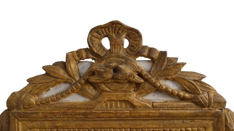 Louis XV Carved and Gilt Mirror, French, circa 1760 In Good Condition For Sale In San Francisco, CA
