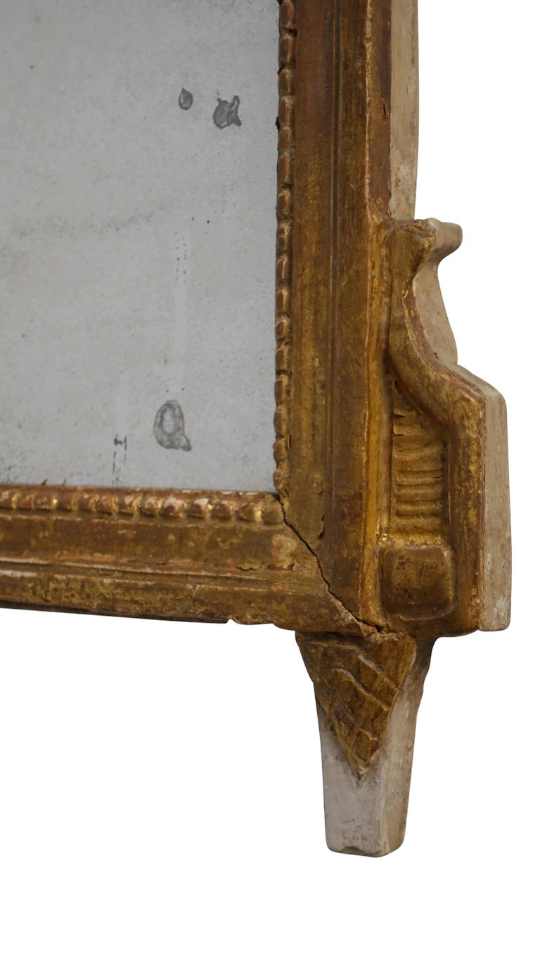 Louis XV Carved and Gilt Mirror, French, circa 1760 For Sale 2