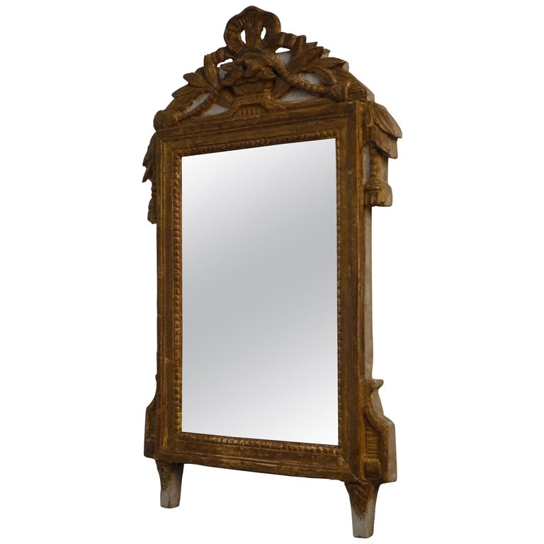 Louis XV Carved and Gilt Mirror, French, circa 1760 For Sale