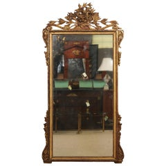 Louis XV Carved Giltwood Mirror, Mid-18th Century