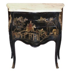 Louis XV Chinoiserie Commode