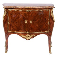 Louis XV Commode Stamped by Denis Genty, 18th Century