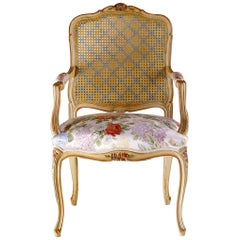 "Louis XV Dining Armchair ""Copy D'ancienne"""