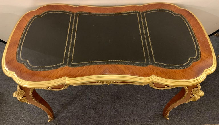 Louis XV Francois Linke Style Ladies Desk In Good Condition For Sale In Stamford, CT
