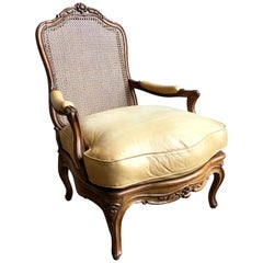Louis XV French Fauteuil, 18th Century