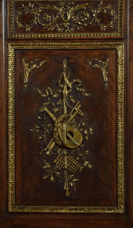 Louis XV French Walnut Armoire 1