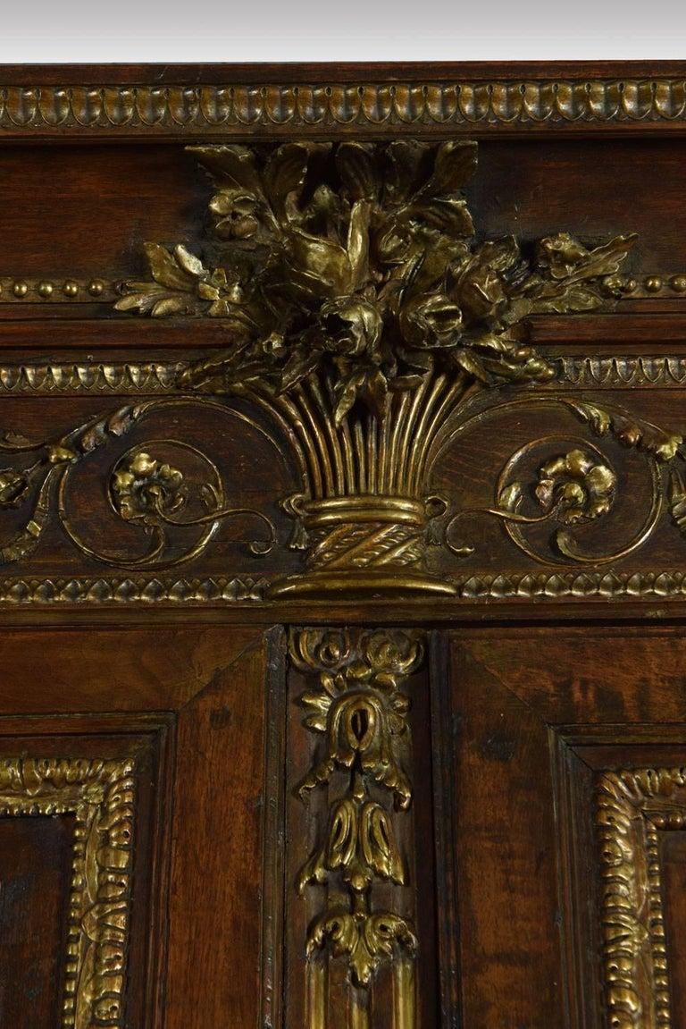 Louis XV French Walnut Armoire 2