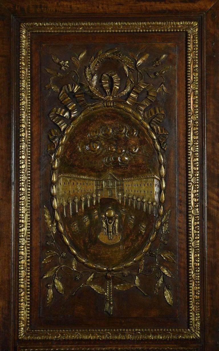 Louis XV French Walnut Armoire 3