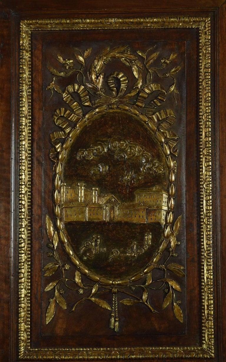 Louis XV French Walnut Armoire 4