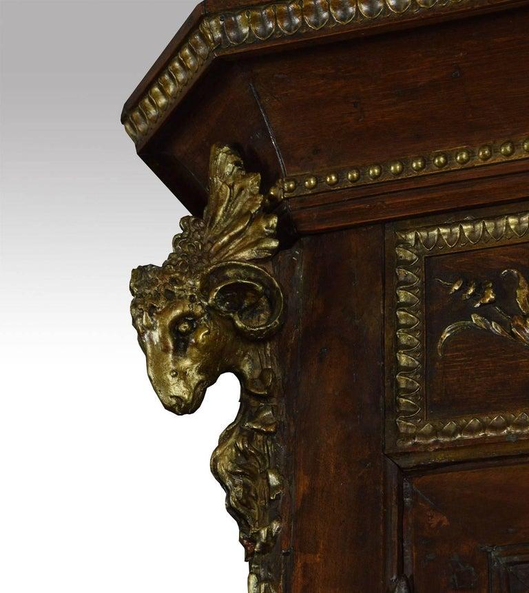 Louis XV French Walnut Armoire 5