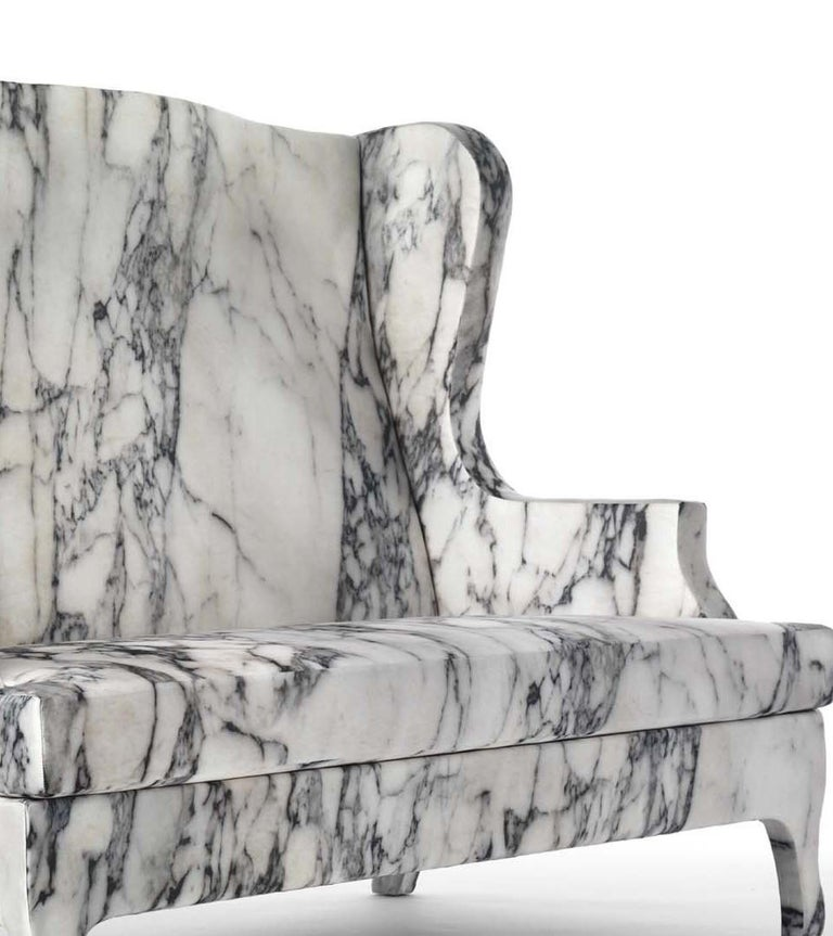 Louis XV Goes To Sparta Sofa by Maurizio Galante e Tal Lancman In New Condition For Sale In Milan, IT