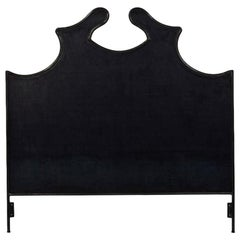 Louis XV Iron Headboard, King