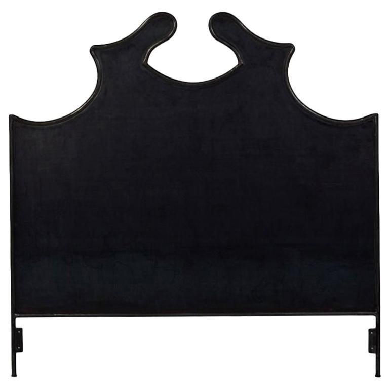 Louis XV Iron Headboard, King For Sale